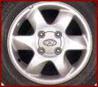 Genuine Hyundai Alloy Wheels