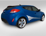 2014 Hyundai Veloster Body Graphics - Lower Fan