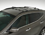 2016 Hyundai Santa Fe Sport Roof Rack Cross Rails