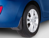 2015 Hyundai Elantra GT Splash Guards - Rear A5F46-AC400