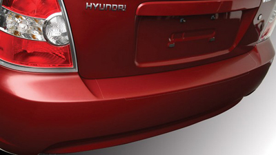 2013 Hyundai Accent Rear Bumper Applique