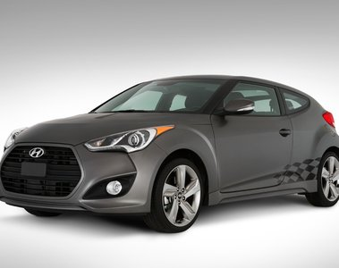 2016 Hyundai Veloster Body Graphics - Checkered 2V020-ADU03