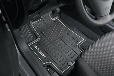 2012 Hyundai Accent All Weather Floor Mats 1R013-ADU00